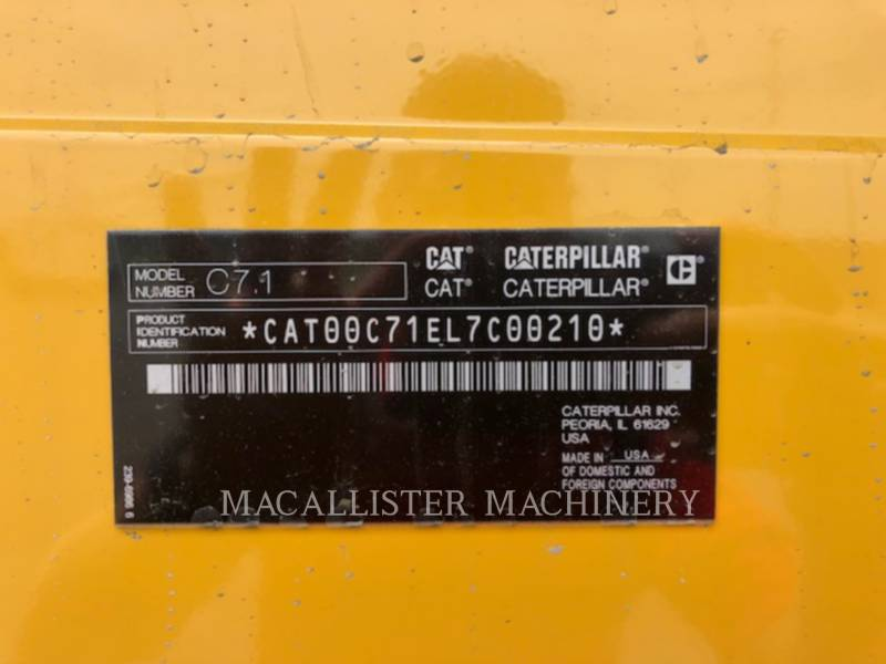 CATERPILLAR GRUPPI ELETTROGENI FISSI D125 equipment  photo 8