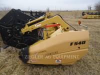 Equipment photo LEXION COMBINE F540 HEADERS 1