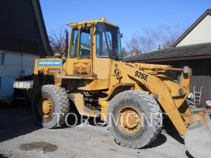 CATERPILLAR CARGADORES DE RUEDAS 926E equipment  photo 1