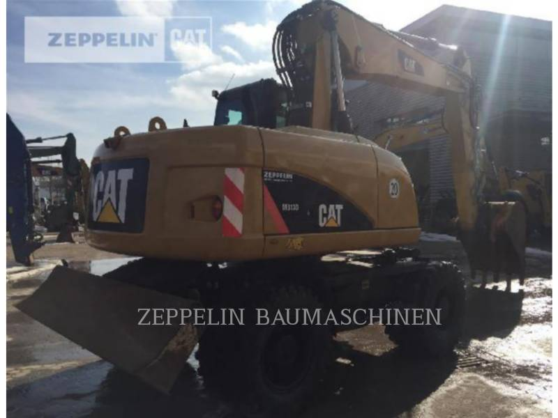 CATERPILLAR ホイール油圧ショベル M313D equipment  photo 5