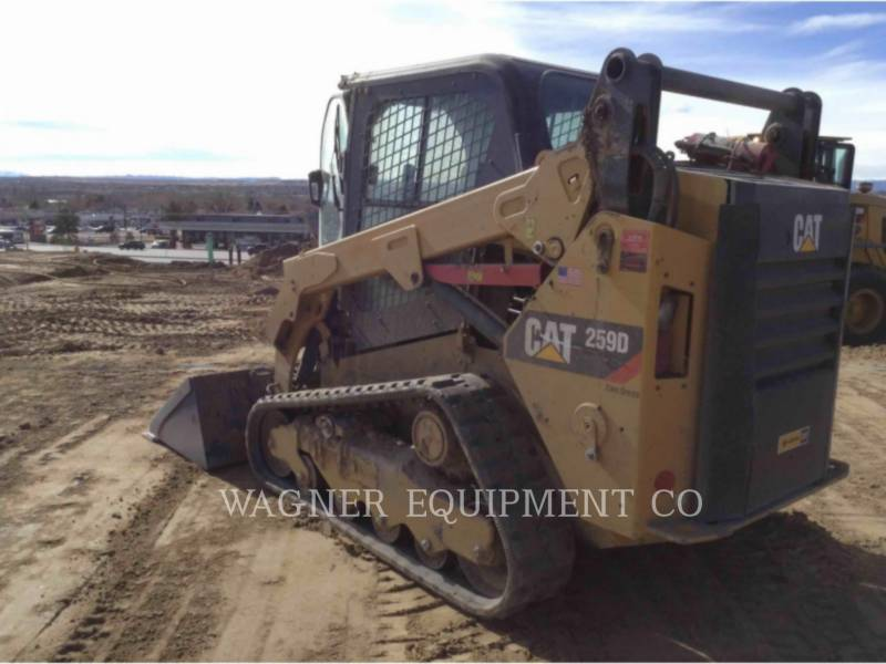 CATERPILLAR SKID STEER LOADERS 259D equipment  photo 4