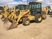 Equipment photo JOHN DEERE 410E 4WD BAGGERLADER 1