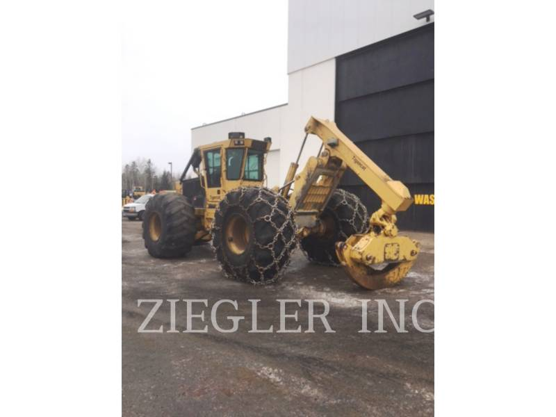 TIGERCAT SILVICULTURĂ – EXCAVATOR FORESTIER 610 C equipment  photo 1