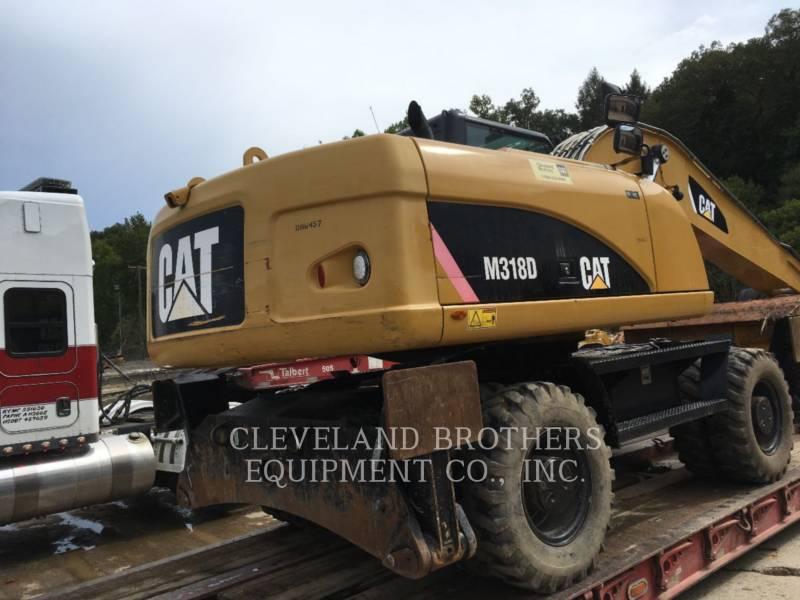 CATERPILLAR WHEEL EXCAVATORS M318D equipment  photo 4