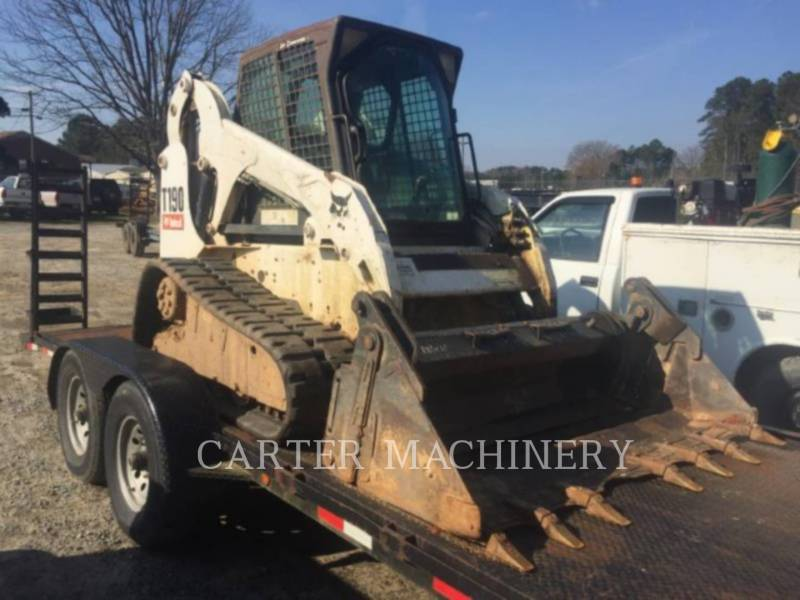 BOBCAT SKID STEER LOADERS BOB T190 equipment  photo 1