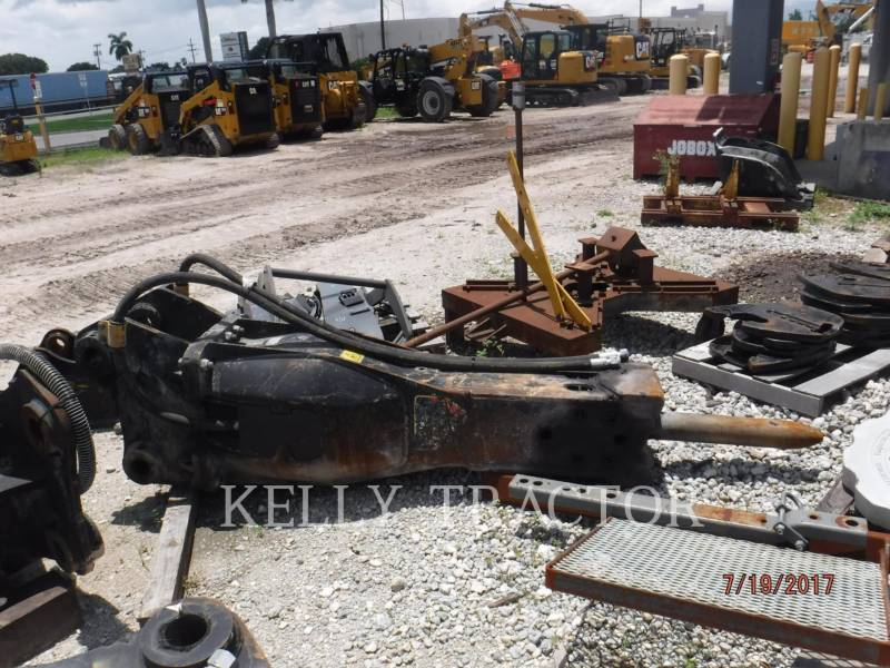 CATERPILLAR HERRAMIENTA DE TRABAJO - MARTILLO H 115 E S equipment  photo 2