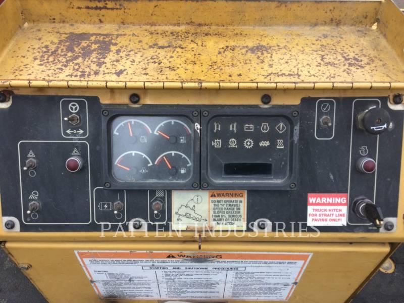 Caterpillar BETONIERE DE ASFALT AP-1000D equipment  photo 8