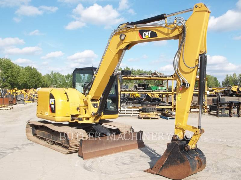 CATERPILLAR TRACK EXCAVATORS 308E CR equipment  photo 2