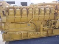 CATERPILLAR STATIONARY GENERATOR SETS 3516 1500KW 4160V equipment  photo 2