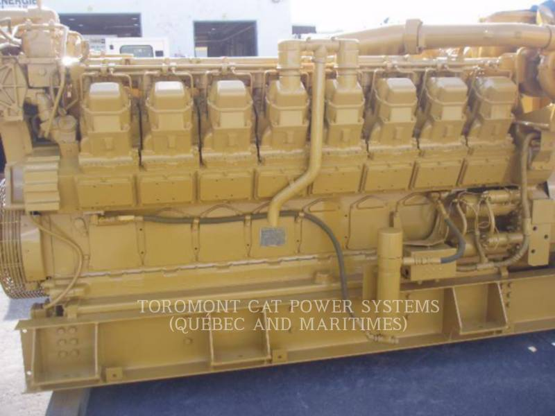 CATERPILLAR STATIONARY GENERATOR SETS 3516_ 1500KW_ 4160V equipment  photo 2