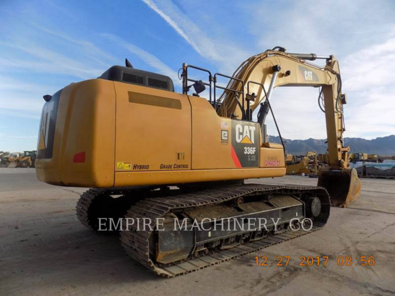 CATERPILLAR TRACK EXCAVATORS 336FL XE P equipment  photo 2