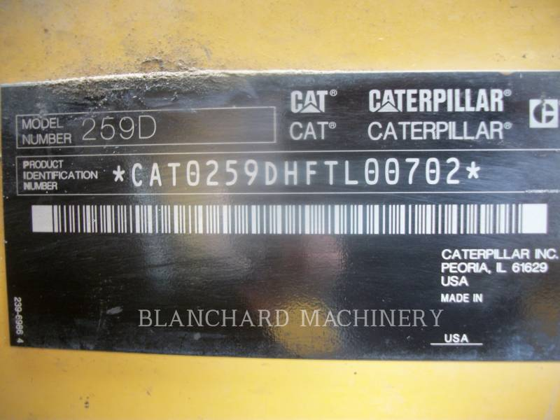 CATERPILLAR DELTALADER 259D equipment  photo 9