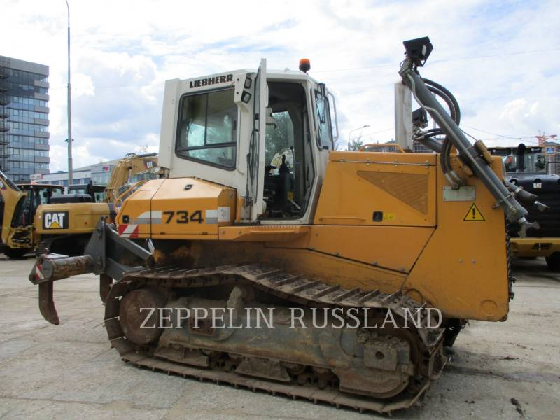 LIEBHERR TRACK TYPE TRACTORS PR 734 L LITRONIC equipment  photo 1