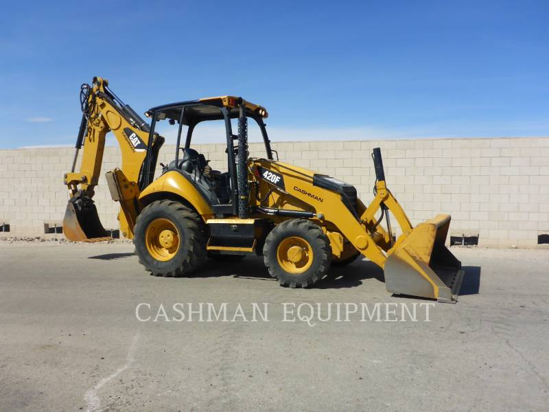 CATERPILLAR RETROESCAVADEIRAS 420F2 equipment  photo 2