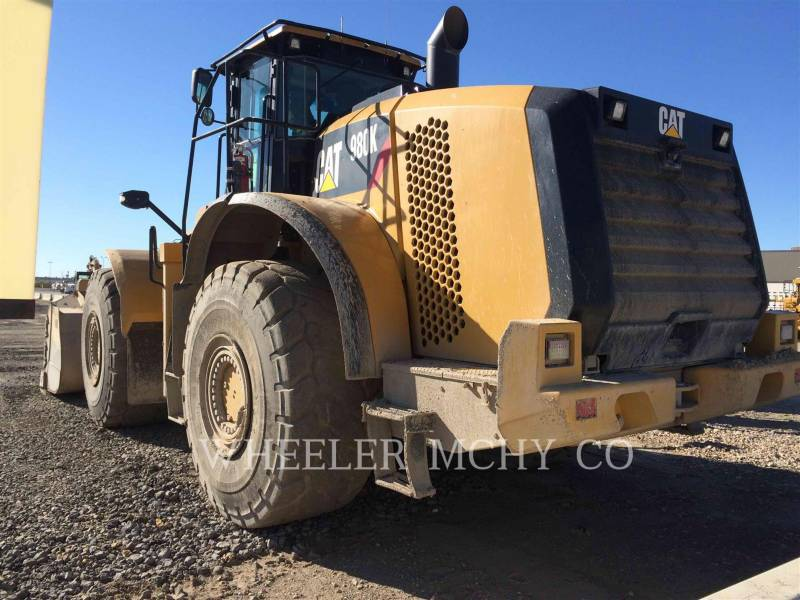 CATERPILLAR RADLADER/INDUSTRIE-RADLADER 980K AOR T equipment  photo 4