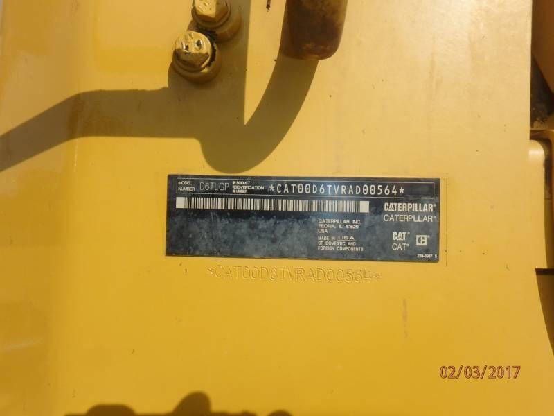 CATERPILLAR TRACTORES DE CADENAS D6TLGPVP equipment  photo 17