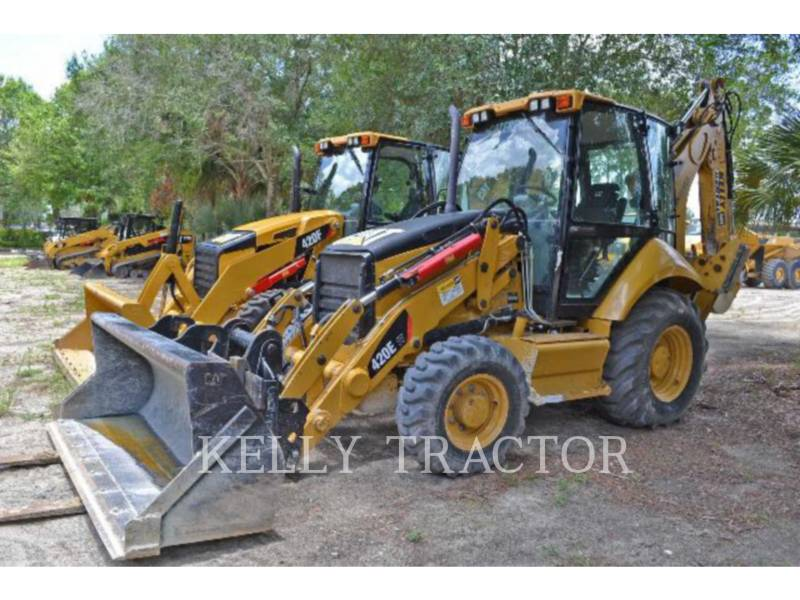 CATERPILLAR バックホーローダ 420EIT equipment  photo 1