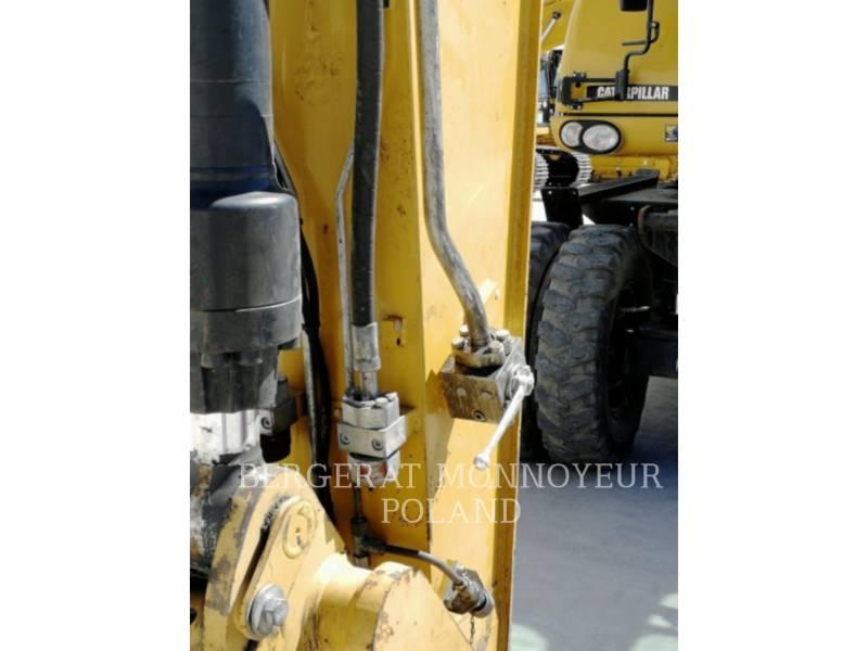 CATERPILLAR WHEEL EXCAVATORS M318D equipment  photo 12