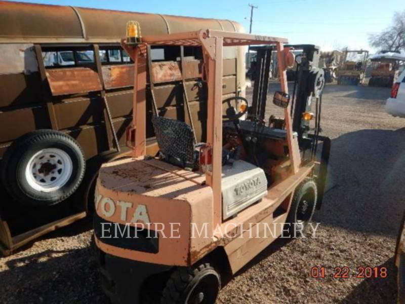 TOYOTA INDUSTRIAL EQUIPMENT FLECHE FORKLIFT equipment  photo 4