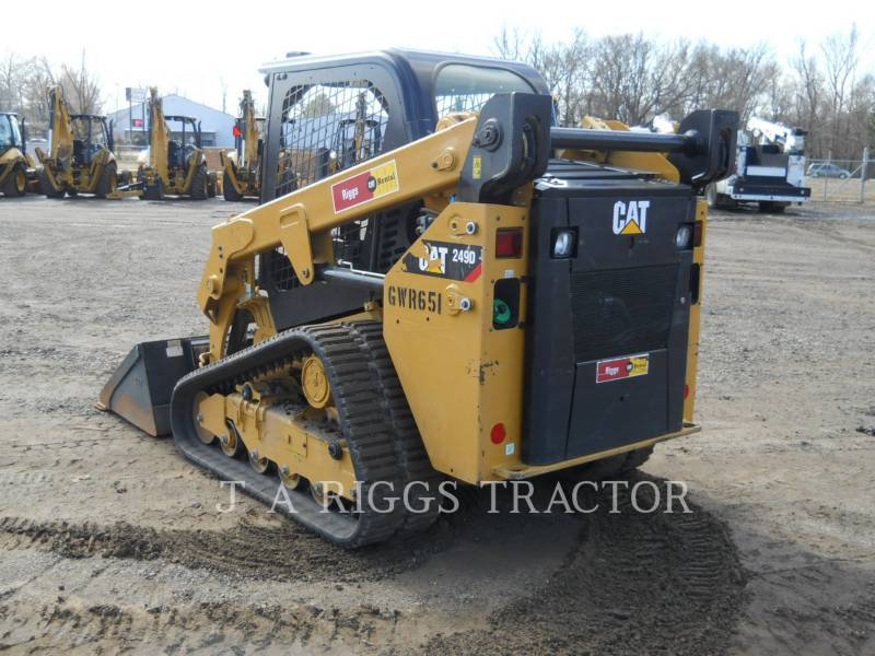 CATERPILLAR KOMPAKTLADER 249D equipment  photo 3