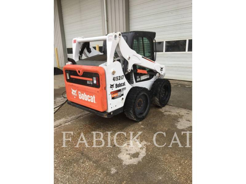 BOBCAT MINIÎNCĂRCĂTOARE RIGIDE MULTIFUNCŢIONALE S570 equipment  photo 4