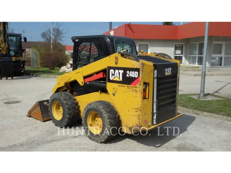 CATERPILLAR SKID STEER LOADERS 246 D equipment  photo 3