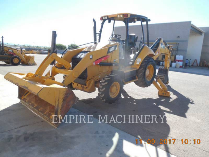 CATERPILLAR BAGGERLADER 420FST equipment  photo 4