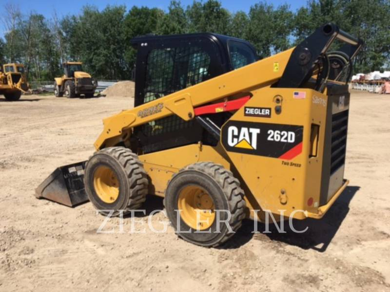 CATERPILLAR SKID STEER LOADERS 262DSR equipment  photo 3