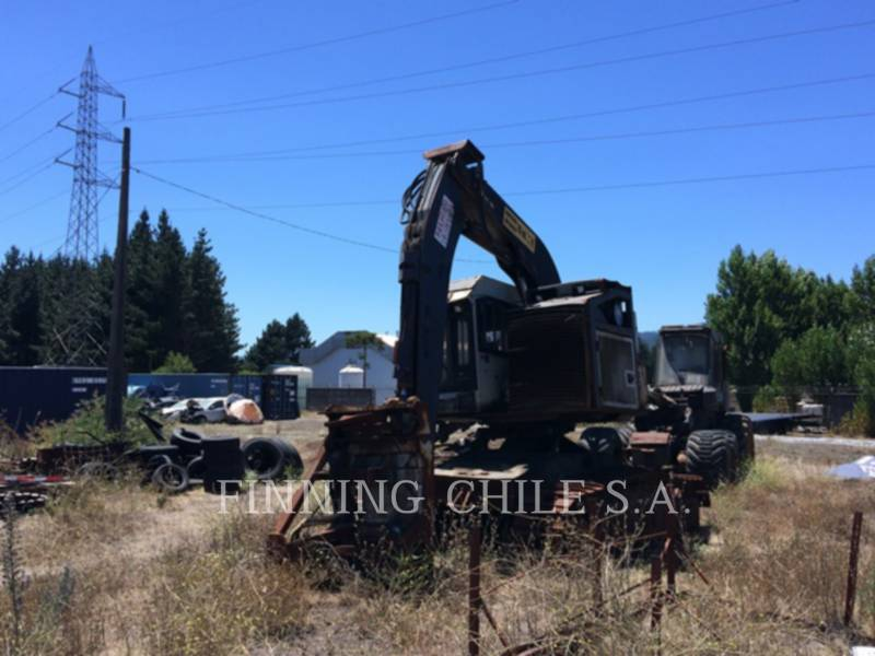 TIMBCO FORESTRY - FELLER BUNCHERS - TRACK T445D equipment  photo 7