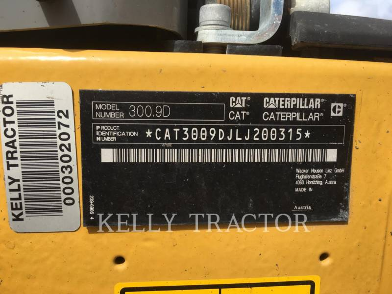 CATERPILLAR PELLES SUR CHAINES 300.9D equipment  photo 14