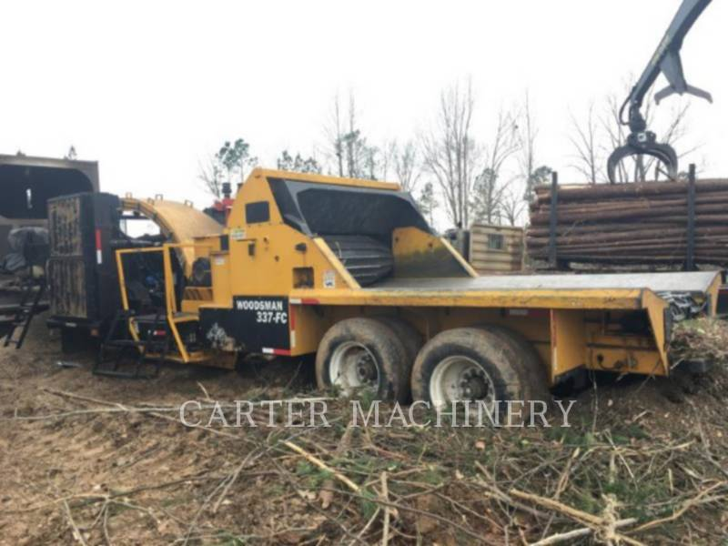 WOODSMAN SALES INC Häcksler, horizontal WOODS 337 equipment  photo 2