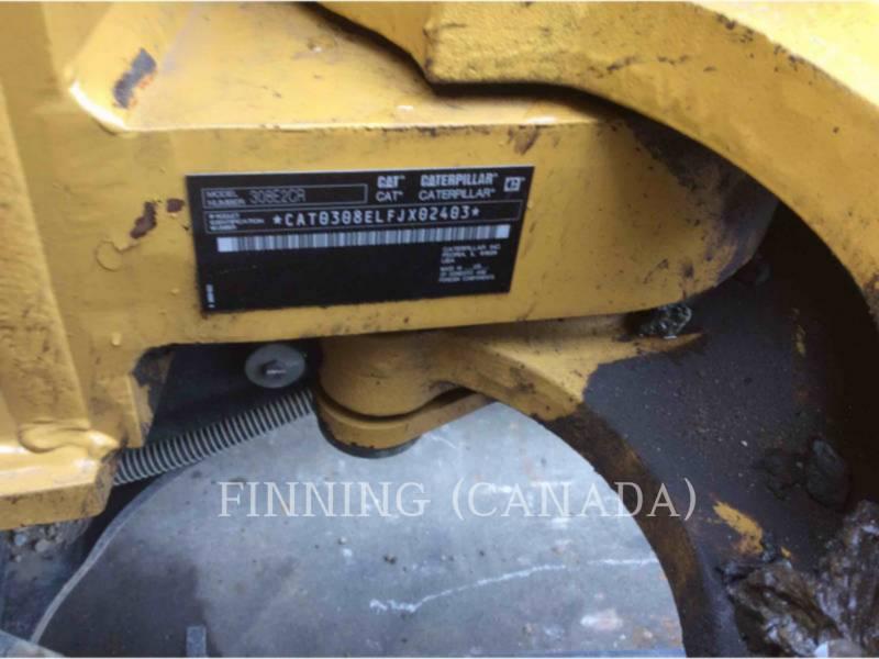 CATERPILLAR EXCAVADORAS DE CADENAS 308E2CRSB equipment  photo 8