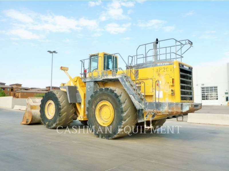 KOMATSU CARGADORES DE RUEDAS WA700-3 equipment  photo 3