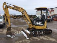 Equipment photo KOMATSU LTD. PC35MR-3 TRACK EXCAVATORS 1