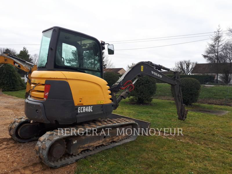 VOLVO CONSTRUCTION EQUIPMENT EXCAVADORAS DE CADENAS ECR48C equipment  photo 2