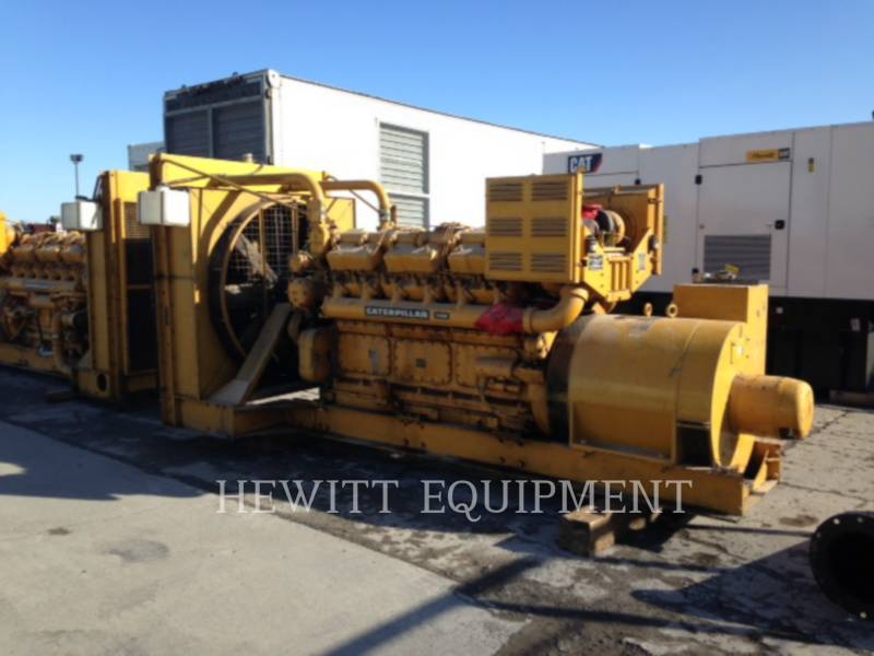 CATERPILLAR STATIONARY GENERATOR SETS D398 equipment  photo 1