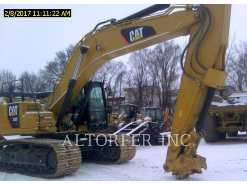 CATERPILLAR TRACK EXCAVATORS 336FLXE equipment  photo 2