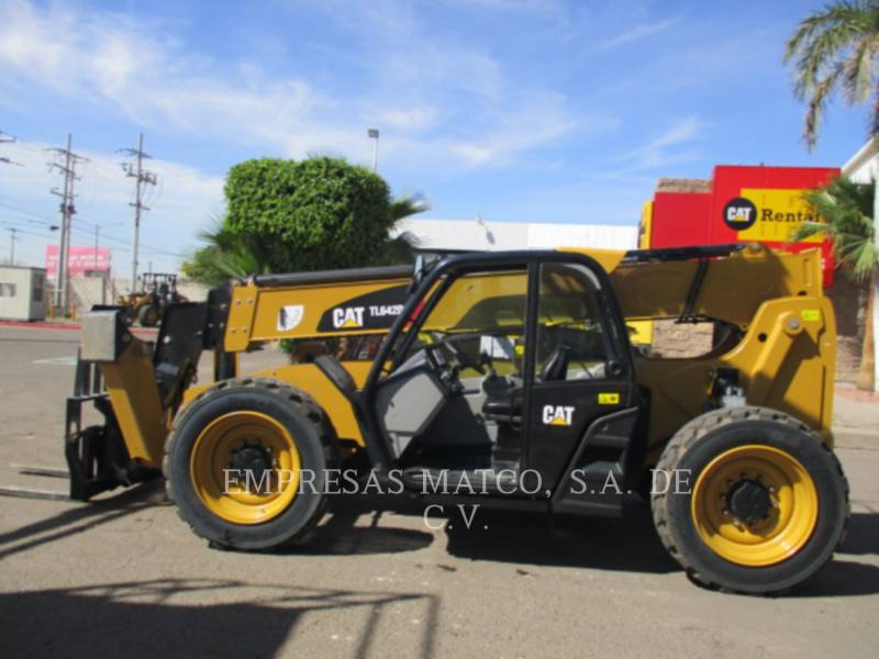 CATERPILLAR TELEHANDLER TL642D equipment  photo 1