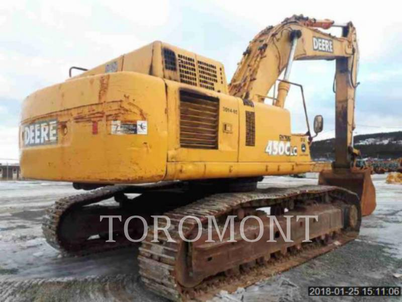DEERE & CO. TRACK EXCAVATORS 450CLC equipment  photo 3