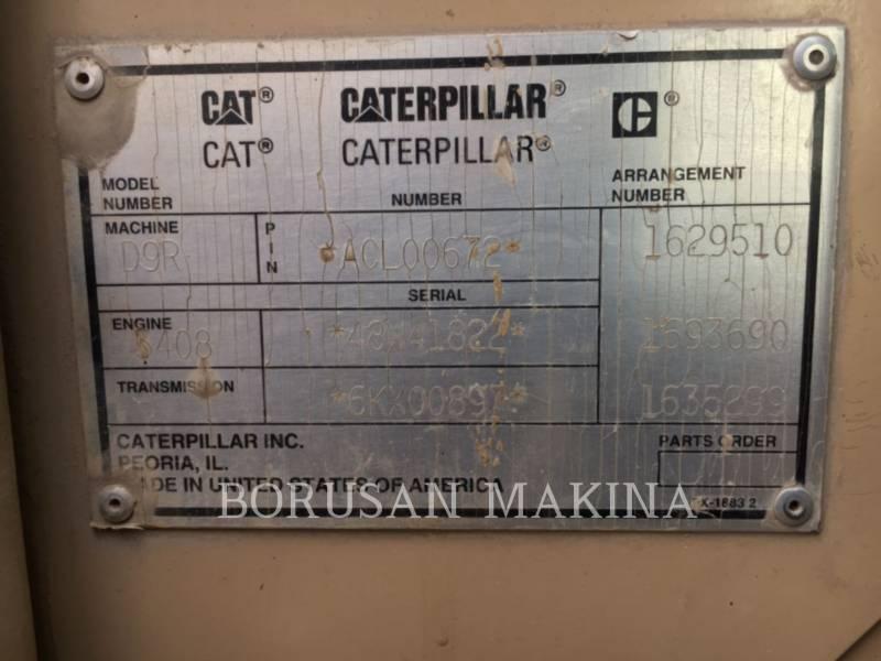 CATERPILLAR CIĄGNIKI GĄSIENICOWE D9R equipment  photo 5