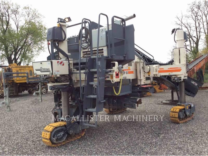 WIRTGEN PAVIMENTADORAS DE MOLDE DESLIZANTE SP15I equipment  photo 1