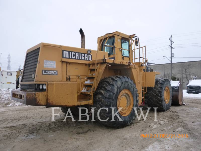 MICHIGAN WHEEL LOADERS/INTEGRATED TOOLCARRIERS L320 equipment  photo 3