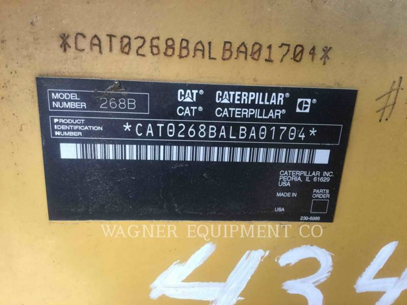 CATERPILLAR KOMPAKTLADER 268B VTS equipment  photo 6