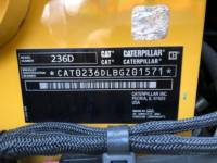 CATERPILLAR KOMPAKTLADER 236D equipment  photo 22