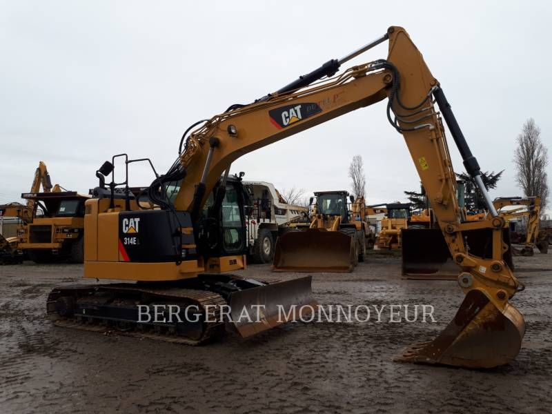 CATERPILLAR KETTEN-HYDRAULIKBAGGER 314E equipment  photo 2
