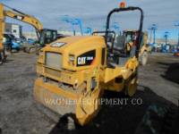 CATERPILLAR TANDEMVIBRATIONSWALZE, ASPHALT CB34B equipment  photo 2