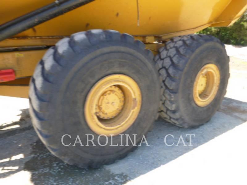 CATERPILLAR KNICKGELENKTE MULDENKIPPER 740 B equipment  photo 9