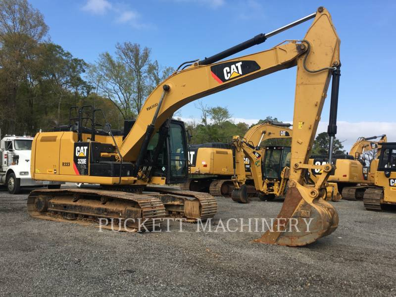 CATERPILLAR KETTEN-HYDRAULIKBAGGER 320E equipment  photo 5