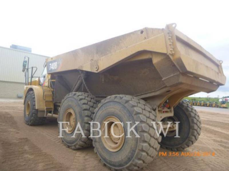 CATERPILLAR OFF HIGHWAY TRUCKS 740B4 equipment  photo 2