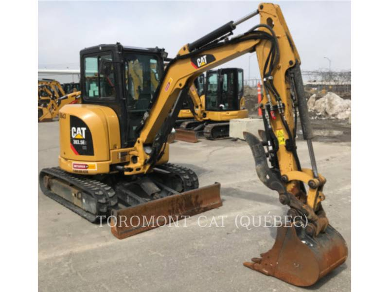 CATERPILLAR TRACK EXCAVATORS 303.5E2 CR equipment  photo 5
